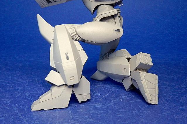 再現一號機、二號機雙型態!MODEROID《機動警察》AV-98 英格蘭姆(イングラム)1/60比例組裝模型