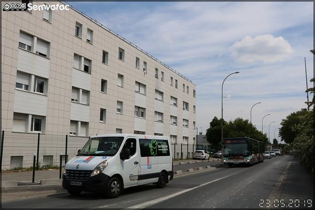 Renault Trafic – Keolis Mobilité Val de Marne / Île de France Mobilités – Filival – PAM 94 (Pour Aider à la Mobilité) n°118