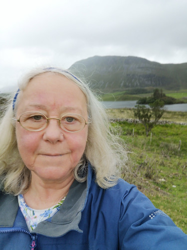 Selfie at the Cregennen Lakes