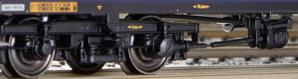 MD-Drehgestell mit Kardanlichtmaschine erster Bauart