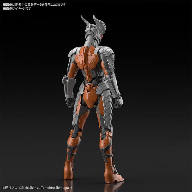 Figure-rise Standard《超人力霸王》ULTRAMAN SUIT 暗黑獨眼傑洛(DARKLOPS ZERO) -ACTION-