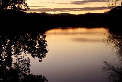 boambeecreek boambeebayresort sunset