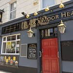 Black a Moor Head pub in Preston