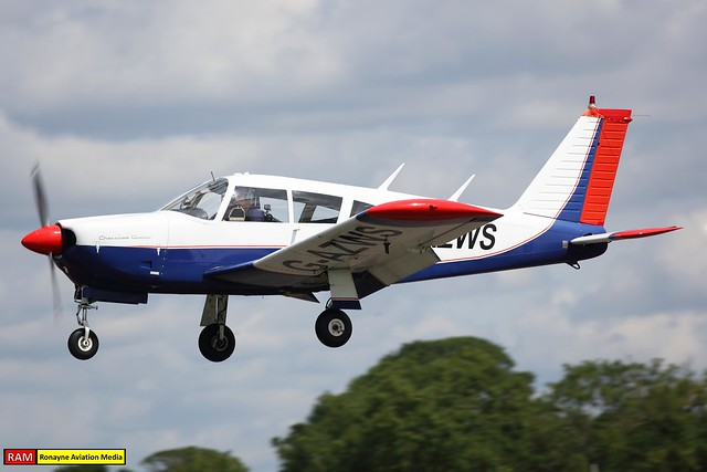 G-AZWS   Piper PA-28R-180 Cherokee Arrow   Private