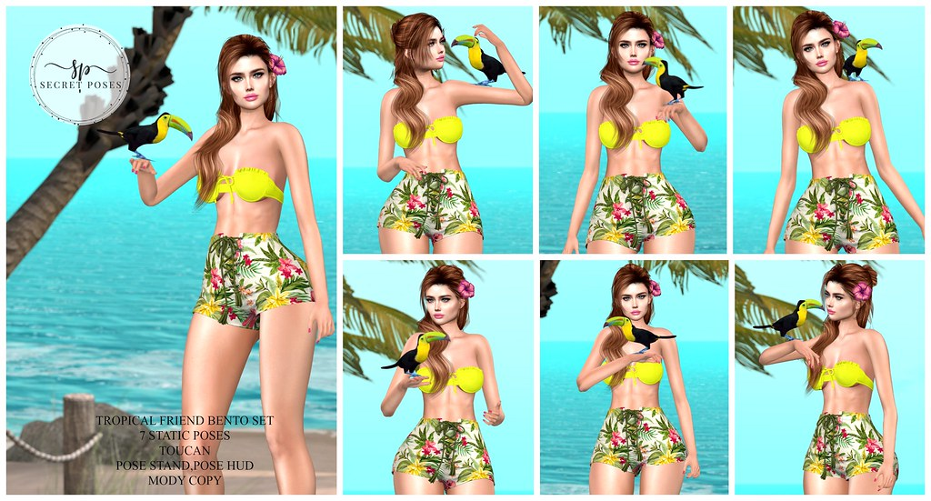 Secret Poses – Tropical Friend @Vanity Event