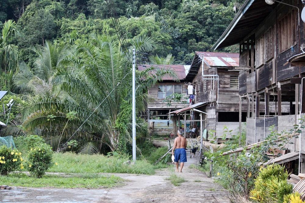 Long Tungan village