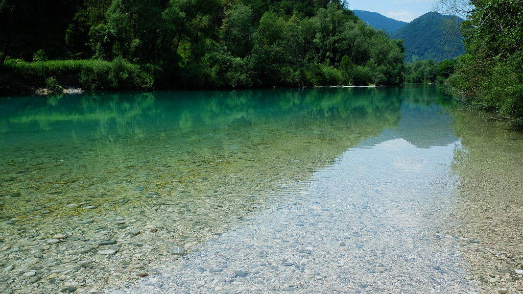 Soča River, Tolmin, Slovenia