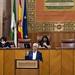 Pleno extraordinario en el Parlamento de Andalucía