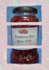 Triptych Raspberry Jam Mayor