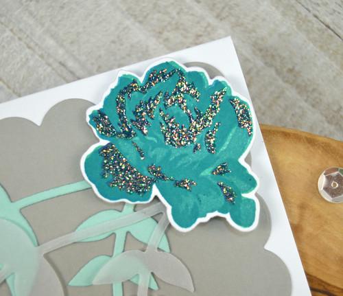 Jen Carter CP Scalloped Kind Rose Garden Perfect Vines CAS Closeup 2