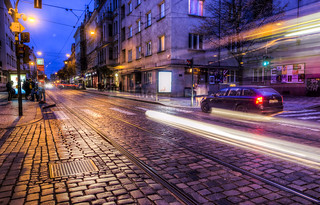Buses on Cobblestone | by Decaseconds