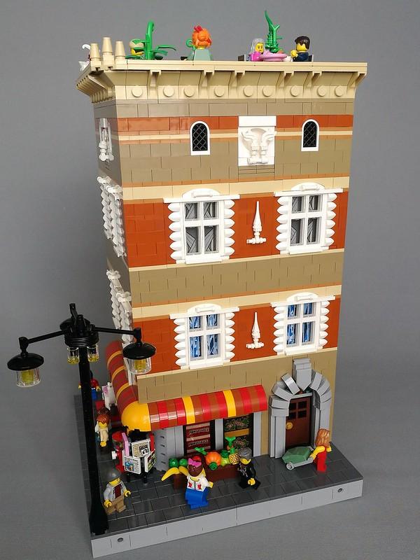 [MOC] Corner shop