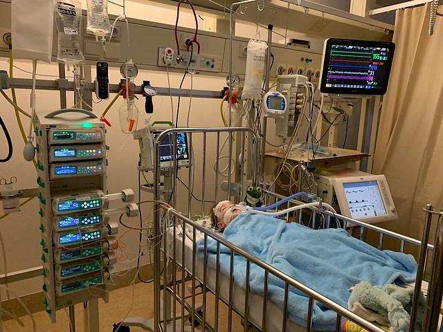 Post-operatief open hartoperatie