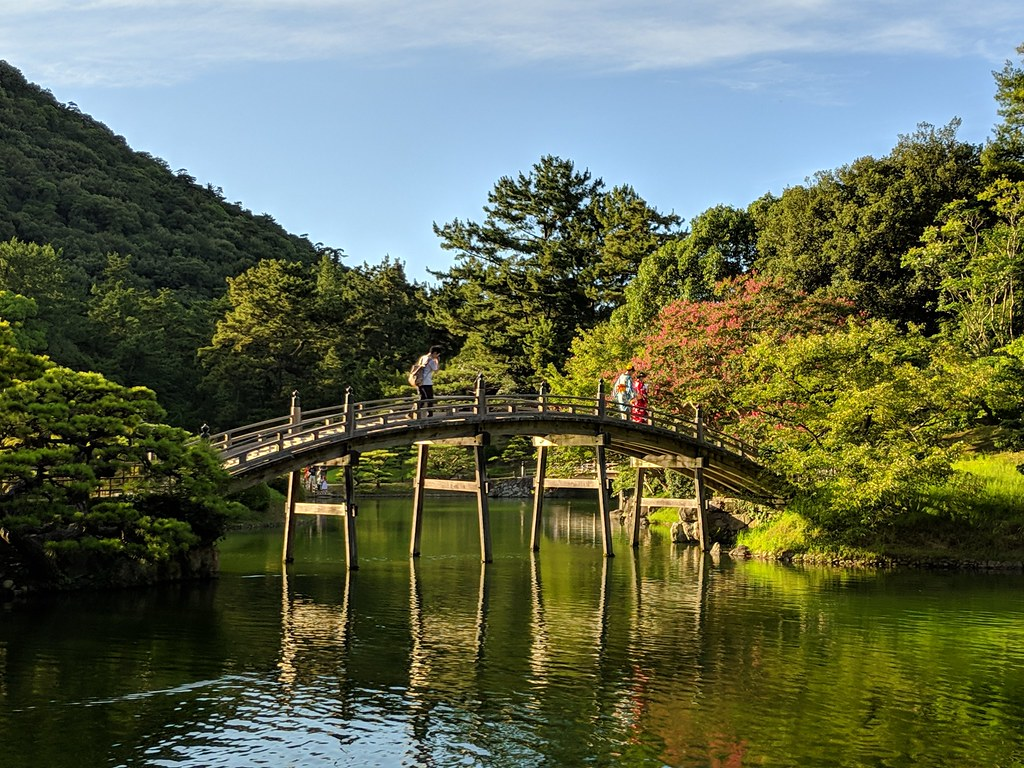 Ritsurin bridge