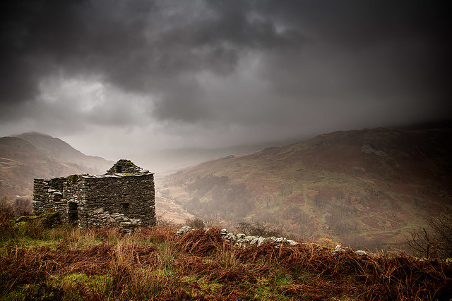 Rain over Kirkstone Pass