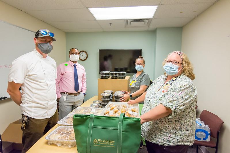 WEC food donation