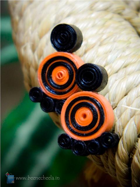 Orange_Earring