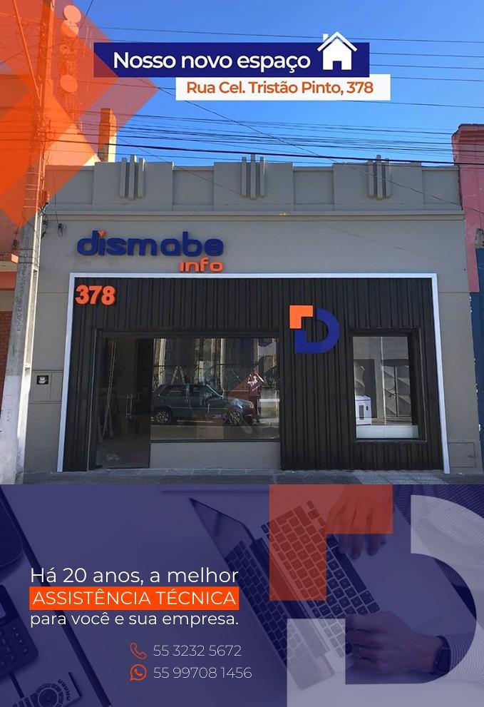 Confira o novo endereço da Dismabe Info em São Gabriel