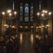 Nef de l'église de Sainte-Élisabeth / Hauptschiff der Elisabethenkirche