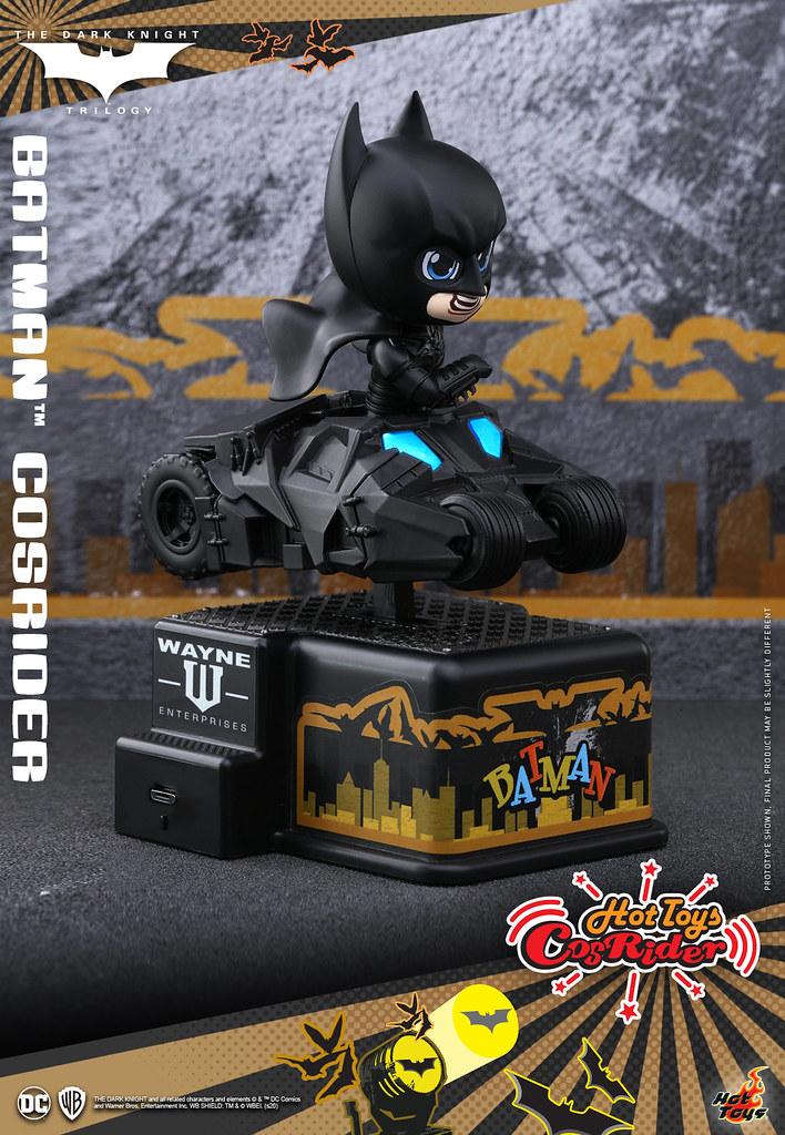 以搖搖車重新詮釋經典載具的可愛新系列 CosRider! Hot Toys –  [CSRD001 - CSRD005] - DC Comic Series – 蝙蝠俠、企鵝人、小丑多位角色登場!