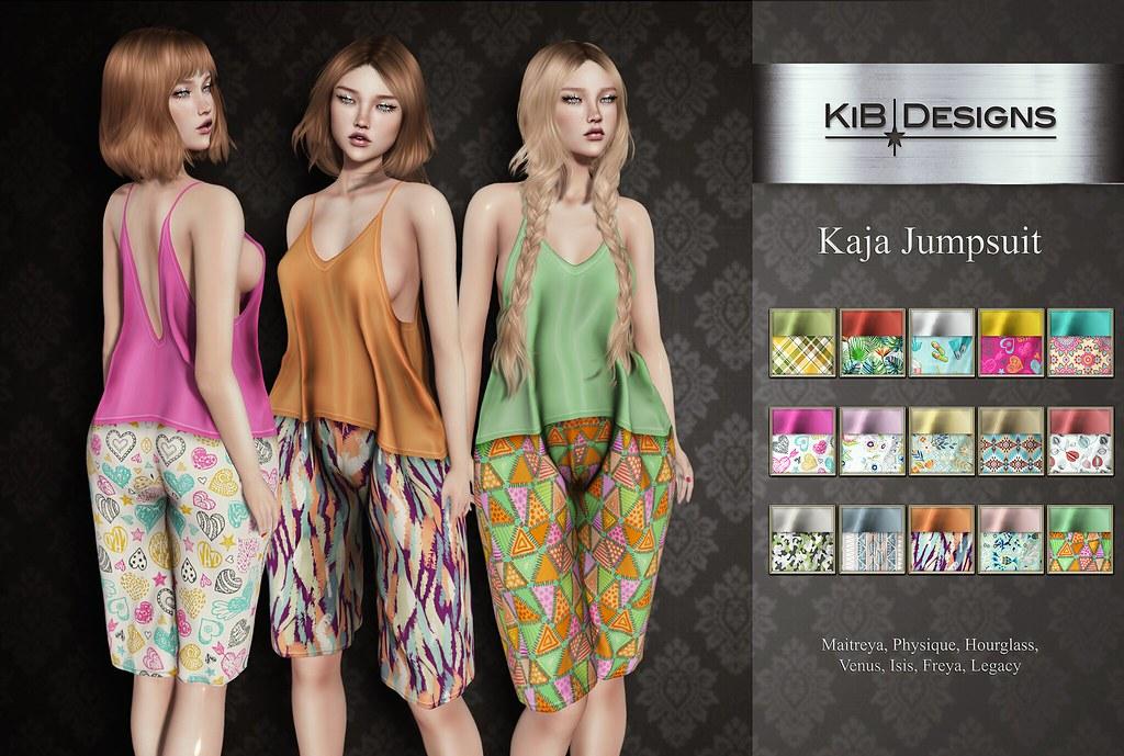 KiB Designs – Kaja Jumpsuit @Sense Event
