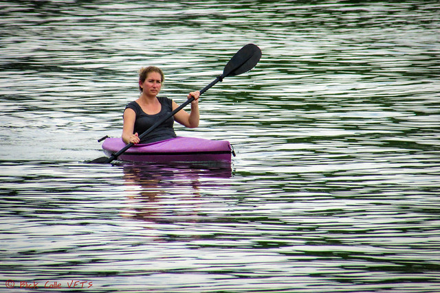 Purple Kayak
