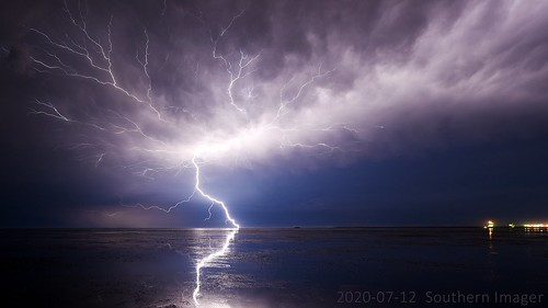 Lightning From the Causeway - 2020-07-12 4036 | by Southern Imager