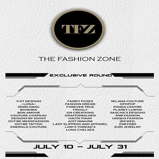 THE FASHION ZONE - JULY EXCLUSIVE