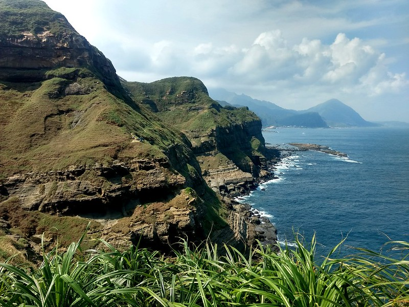Bitoujiao: breath-taking coast in northeastern Taiwan