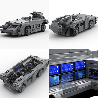 "MOC - M577 APC from the movie ""Aliens"". 