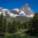 Lac Bleu, Cervinia, Valle D'Aosta, Italy