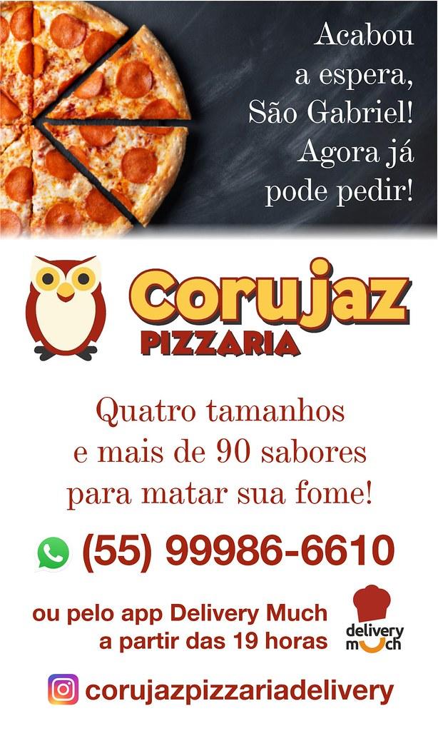 Corujaz Pizzaria Delivery - o sabor caseiro da pizza em São Gabriel