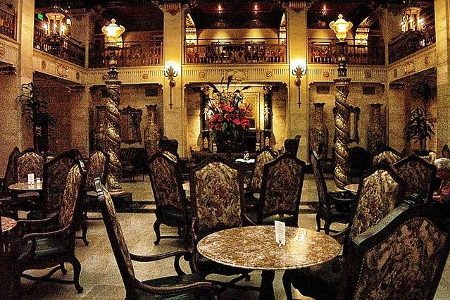 Onasill ~ Bill Badzo Spokane Washington ~ Davenport Hotel ~ Historic Lobby