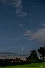 Comet C/2020 F3 Neowise over Christchurch, Newport.