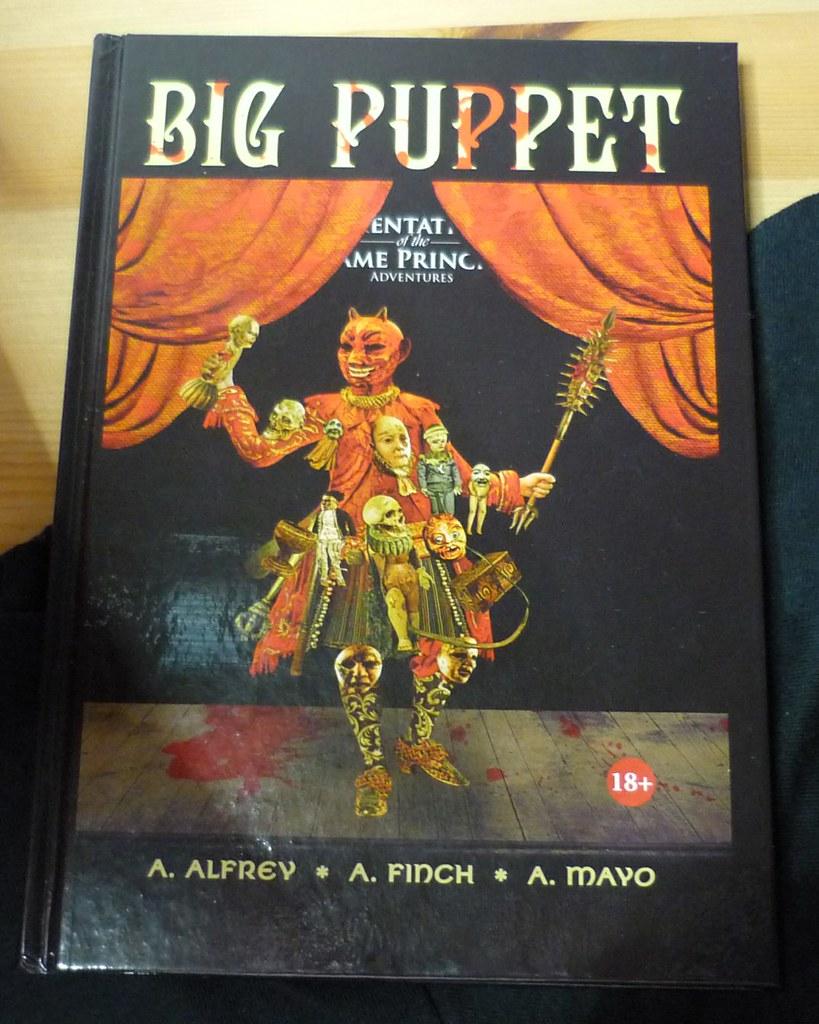 Aeron Alfrey - Big Puppet 2