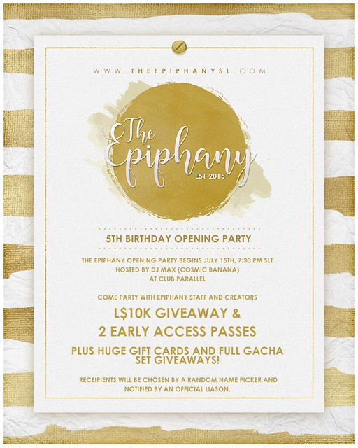 Epiphany * 5th Birthday Party!