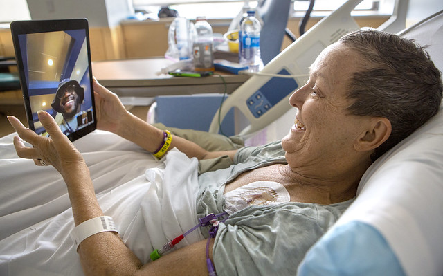 Nittany Lion football team virtually visits Hershey Medical Center patients