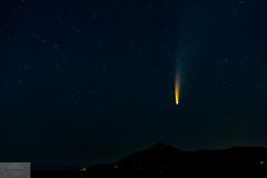 NEOWISE Over Davey Jackson's Hole