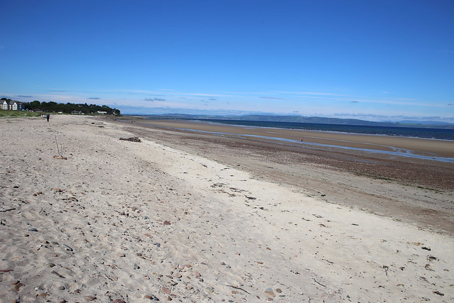 The coast west of Nairn
