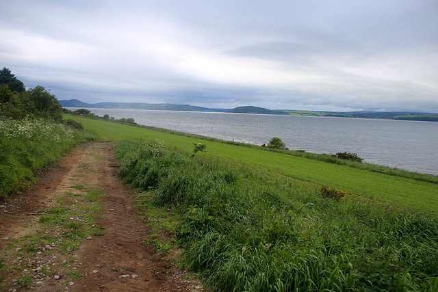 The coast near Inverness Airport