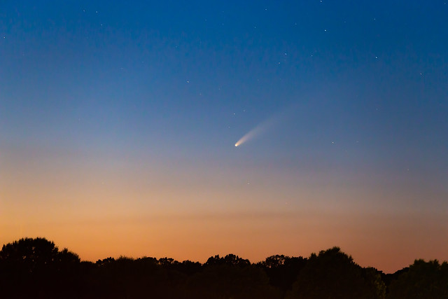 NEOWISE is now visible after sunset!