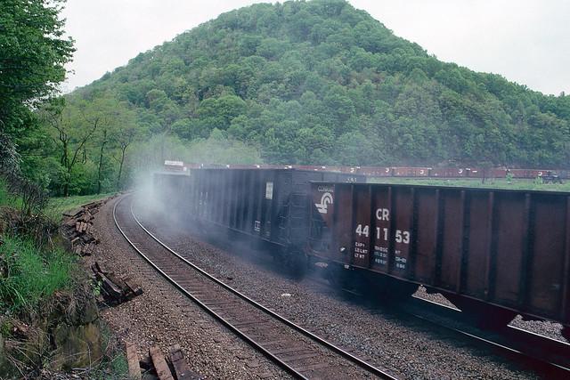 Bathed In Brakeshoe Smoke