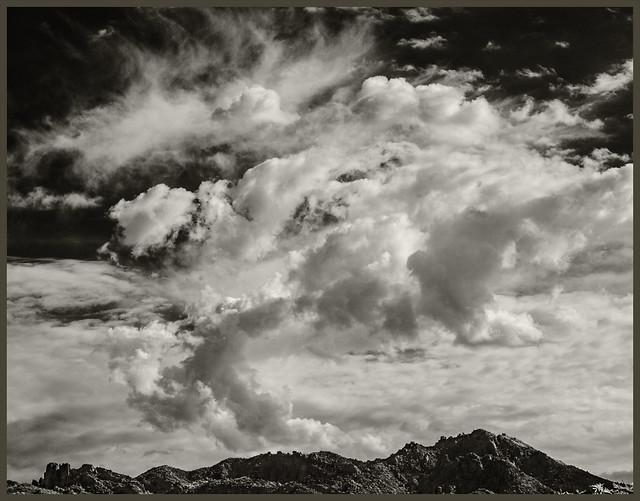 Santa Catalinas #2 2020; Peaks & Sky