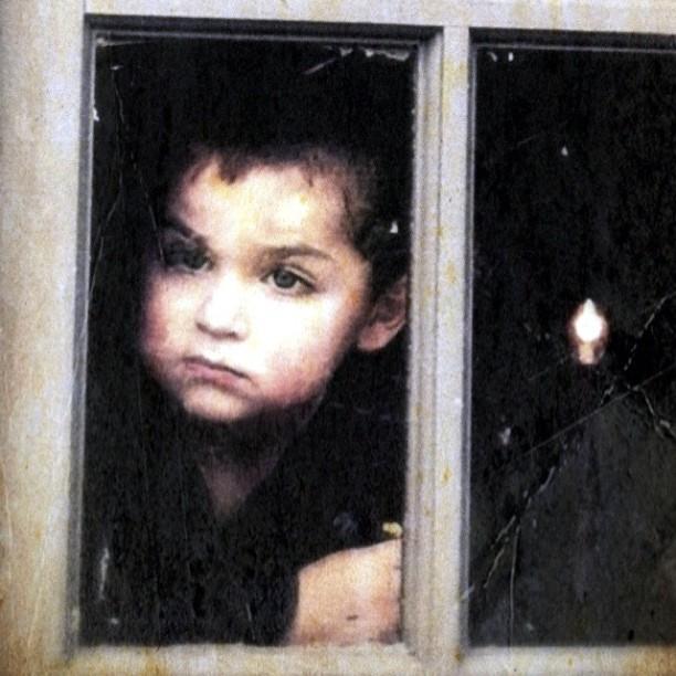 Child in Window