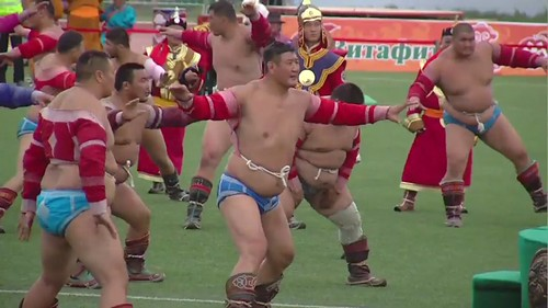 Mongolia's Naadam festival 2020 featured social distancing and no crowds