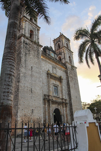 San Servacio Church in Valladolid, Mexico