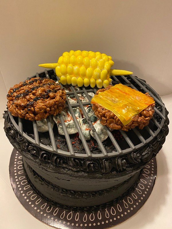 Father's Day Grill Cake by Yvonne Forey