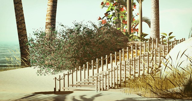 Serenity Style- Wooden Beach Path