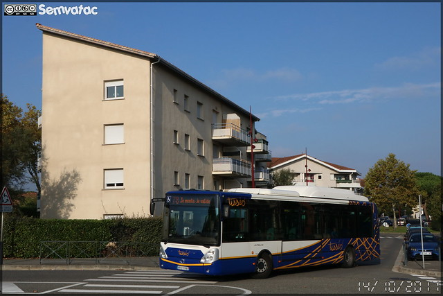 Irisbus Citélis 12 CNG – Tisséo n°1117