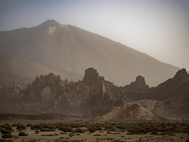 Paisaje Marciano en el Teide